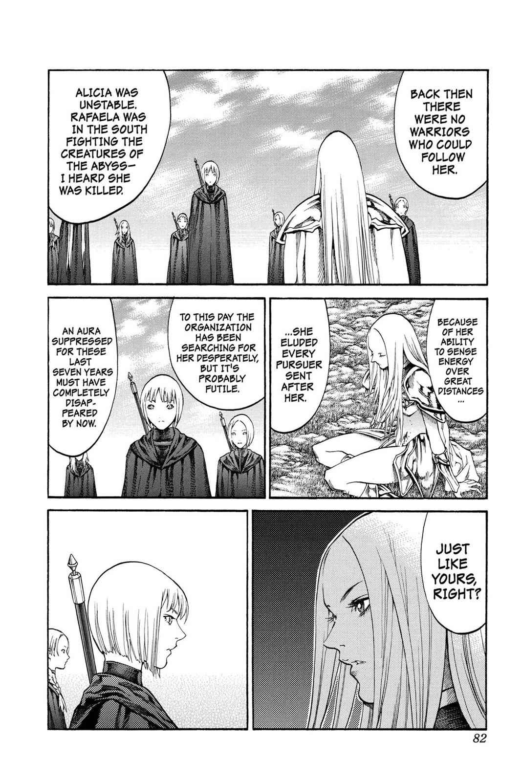 Claymore Chapter 72 Page 11