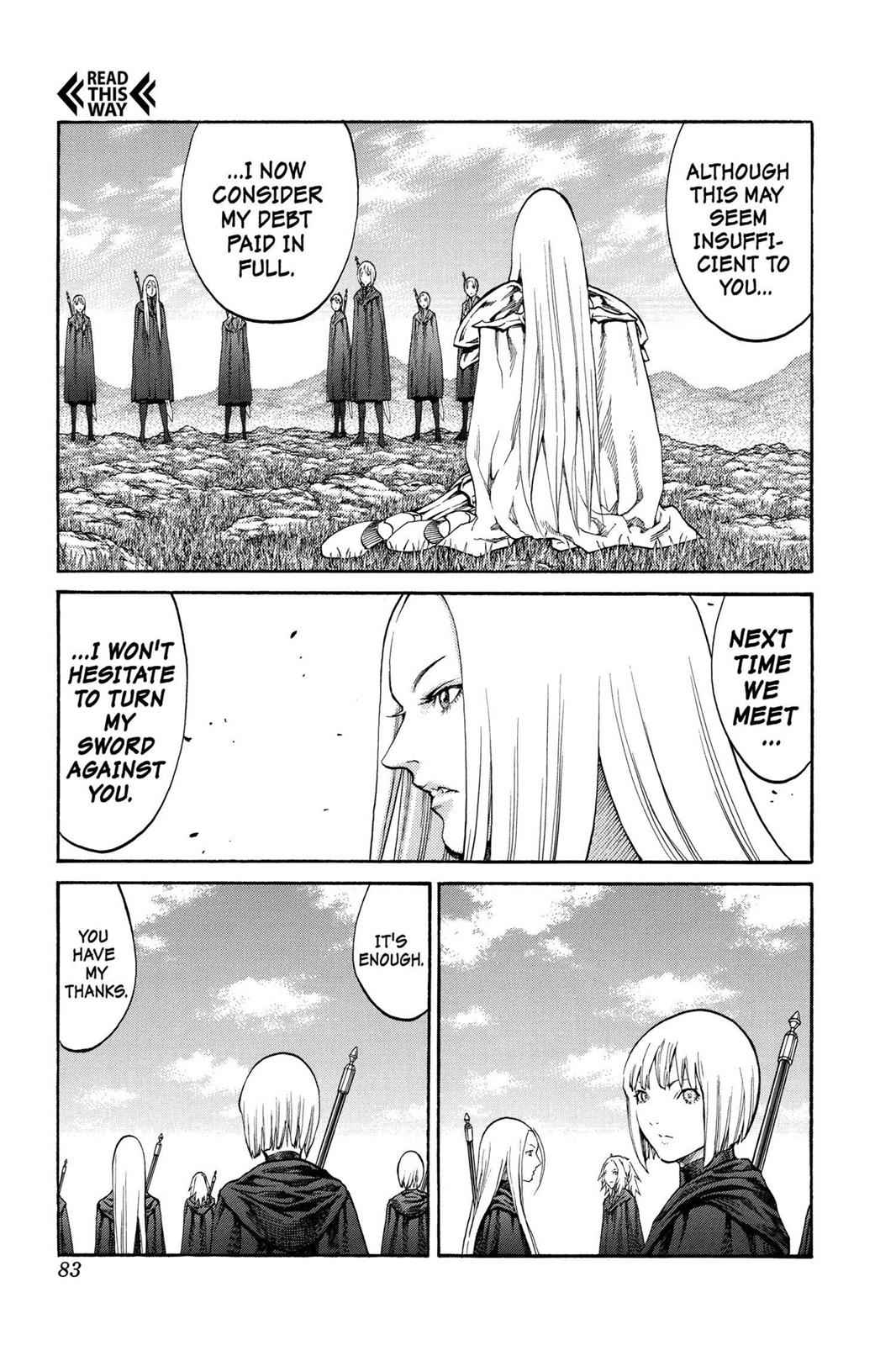 Claymore Chapter 72 Page 12