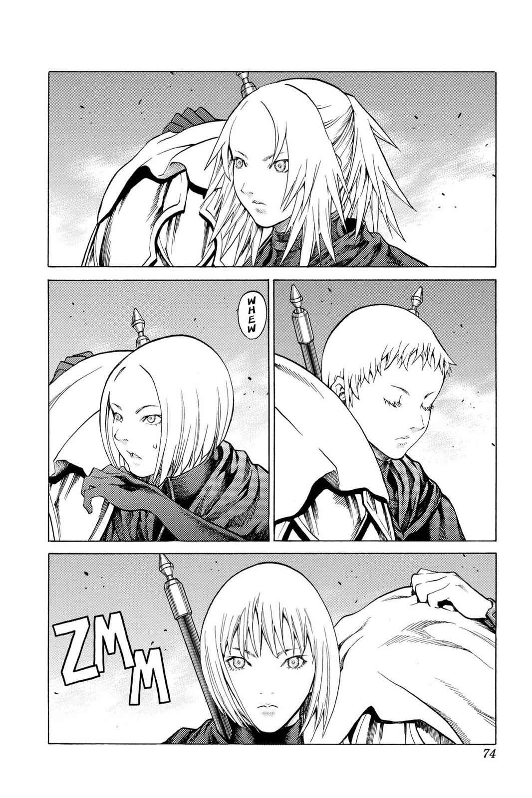 Claymore Chapter 72 Page 3