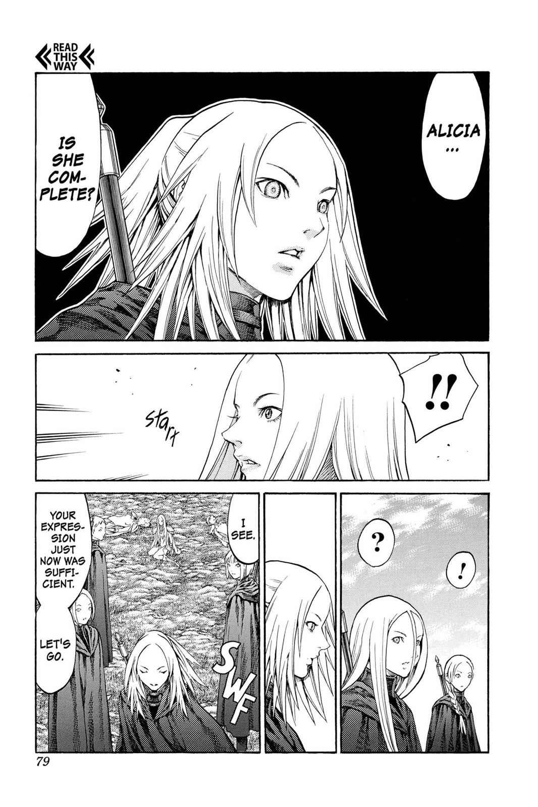 Claymore Chapter 72 Page 8