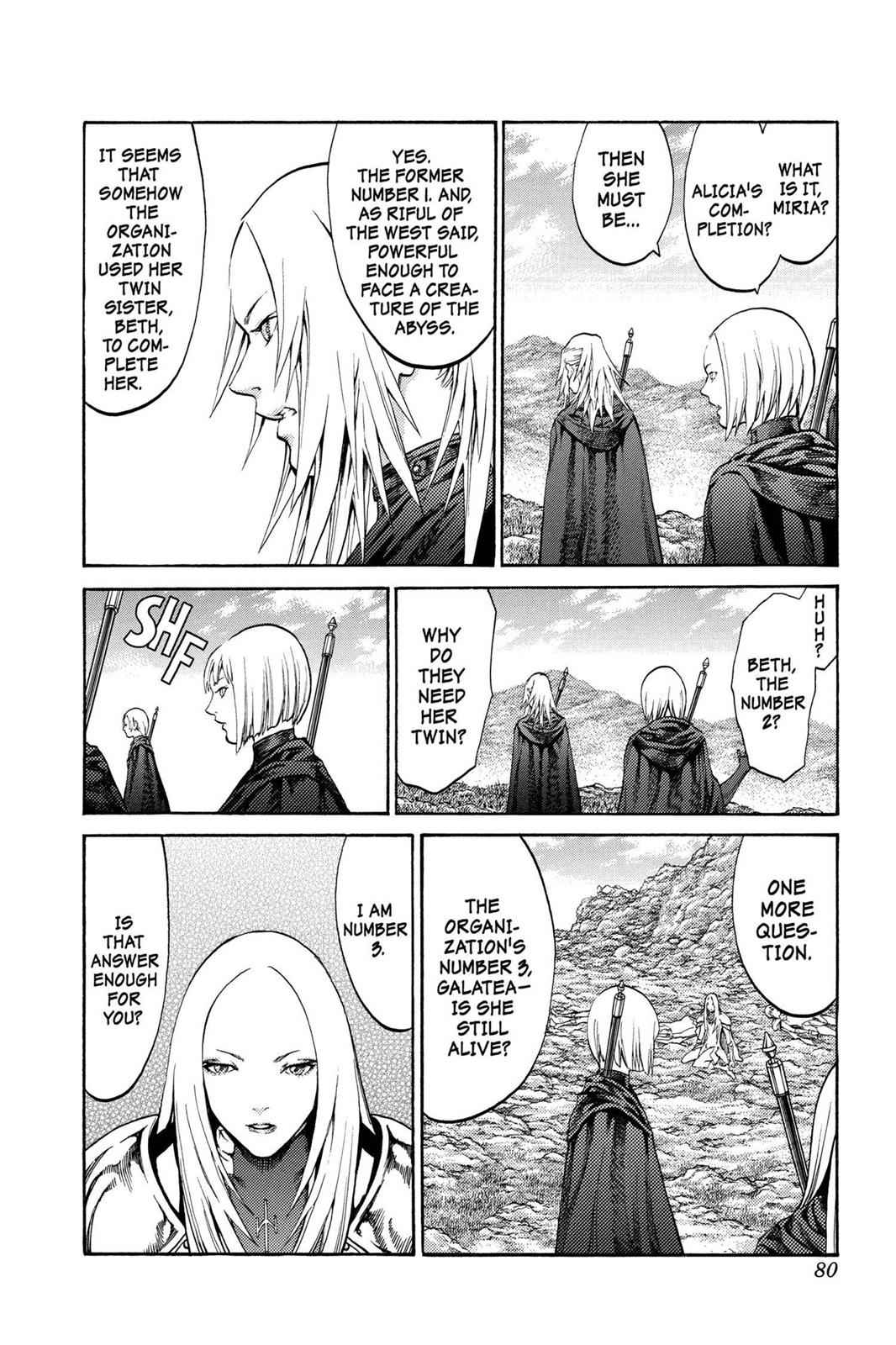 Claymore Chapter 72 Page 9