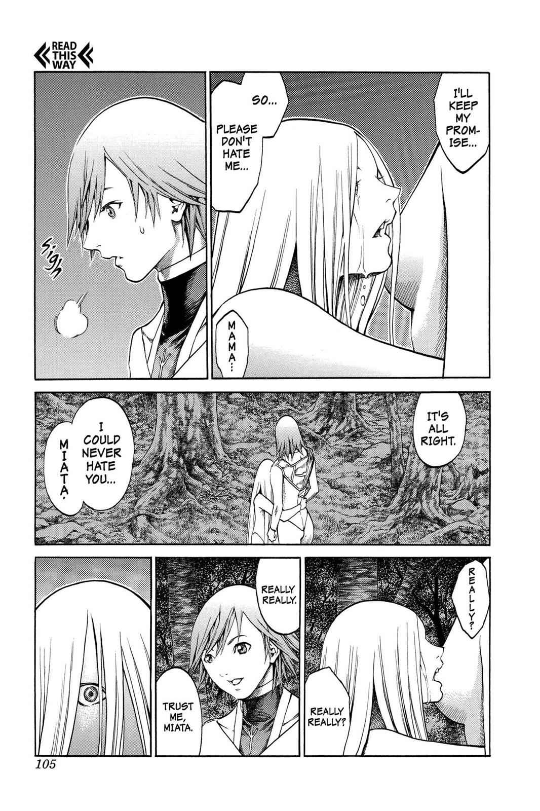 Claymore Chapter 73 Page 11