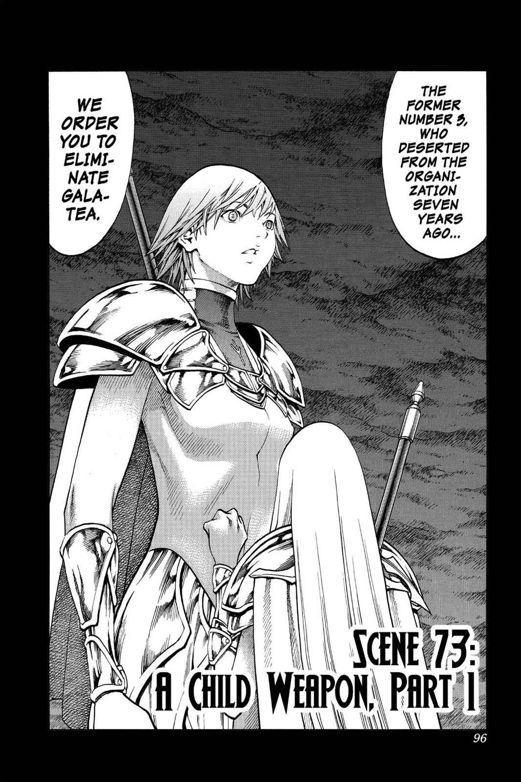 Claymore Chapter 73 Page 2