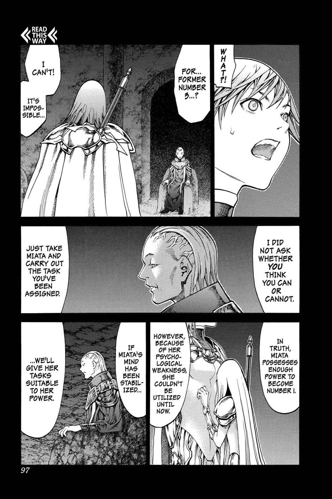 Claymore Chapter 73 Page 3