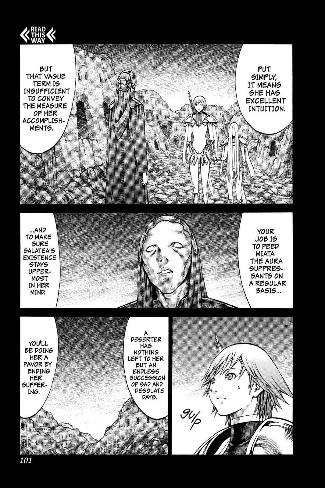 Claymore Chapter 73 Page 7