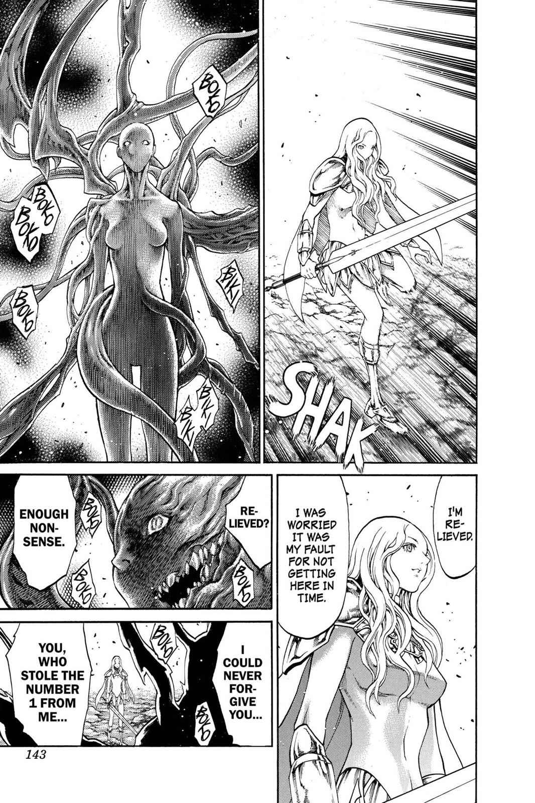 Claymore Chapter 73.5 Page 18