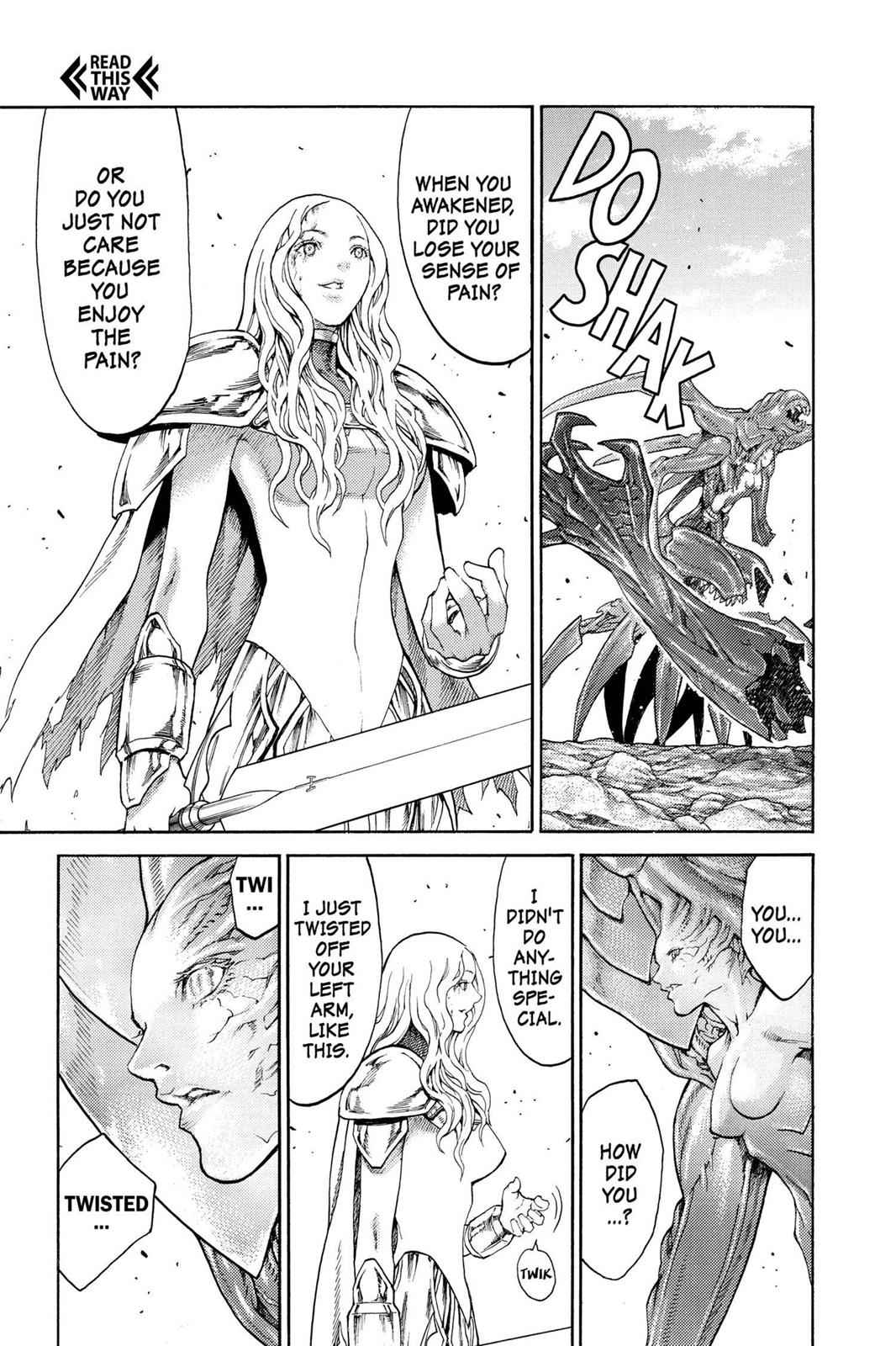 Claymore Chapter 73.5 Page 25