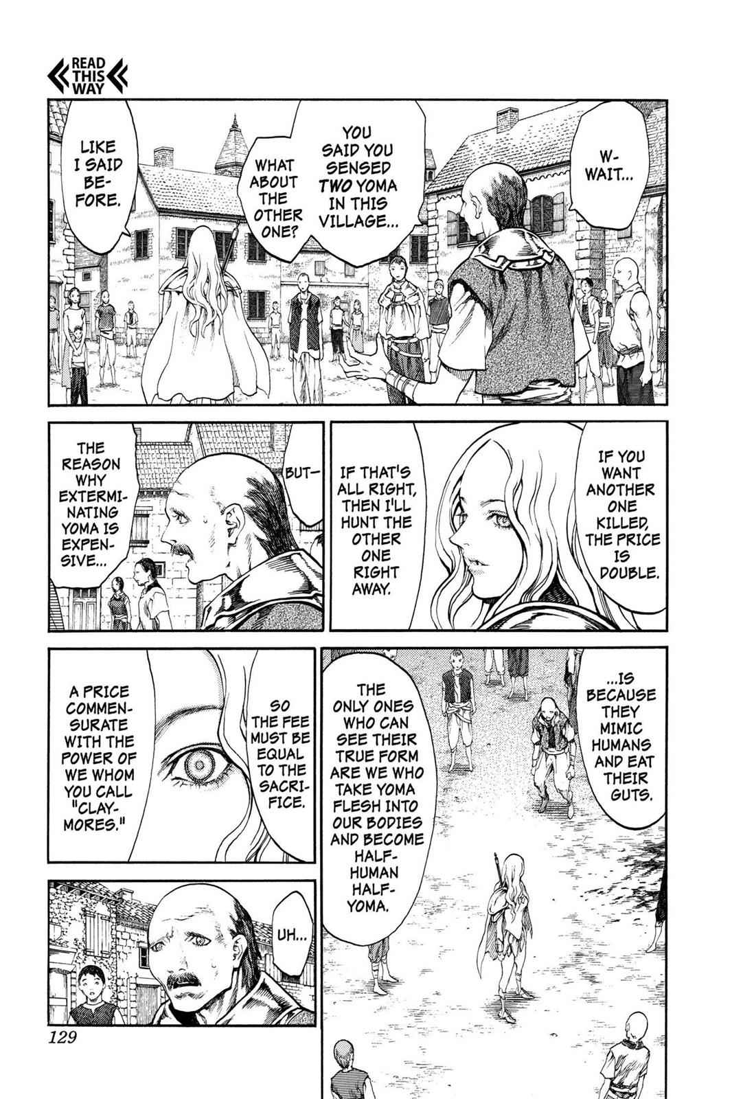 Claymore Chapter 73.5 Page 4