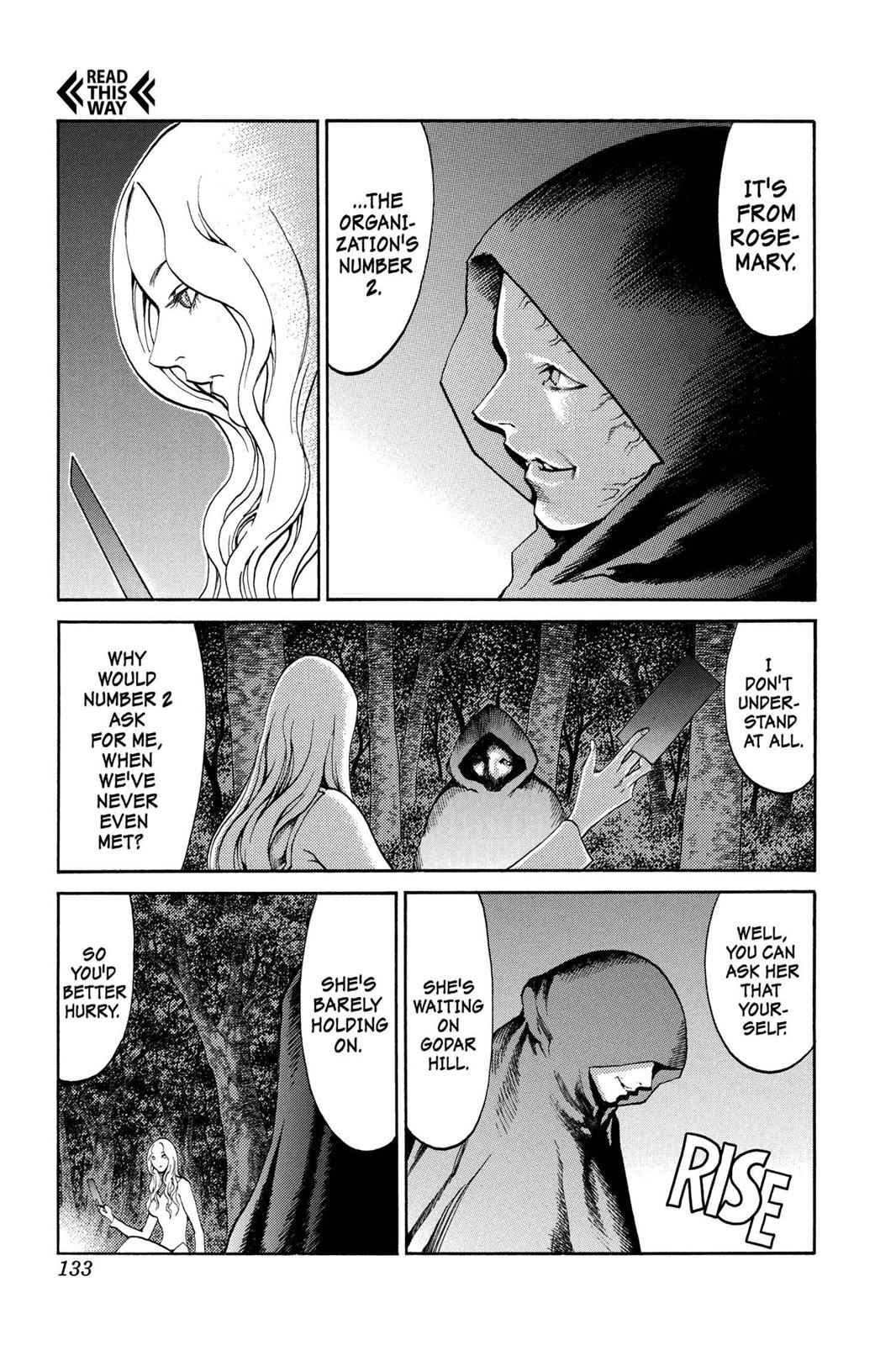 Claymore Chapter 73.5 Page 8