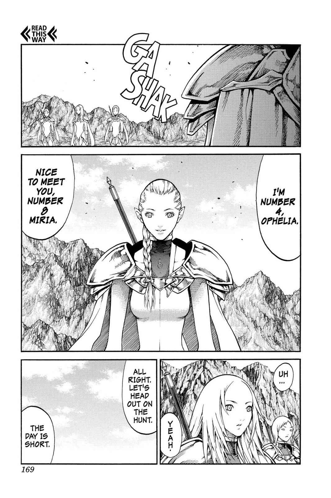 Claymore Chapter 73.6 Page 12