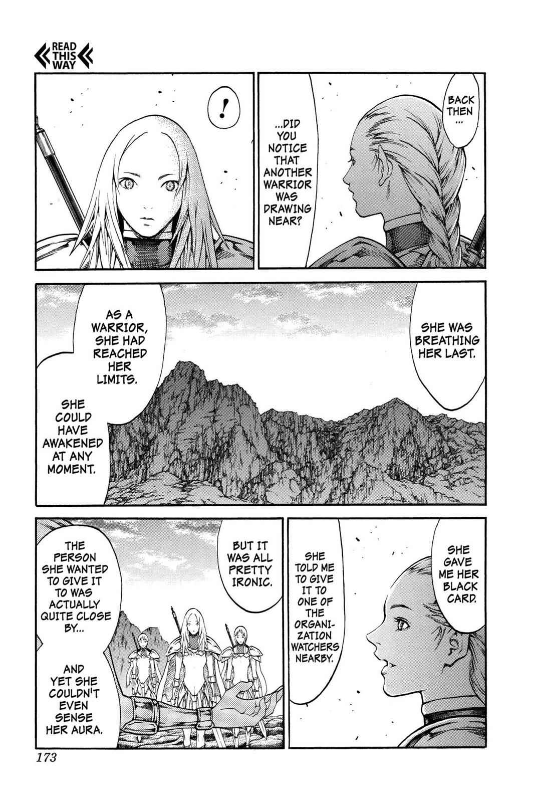 Claymore Chapter 73.6 Page 16
