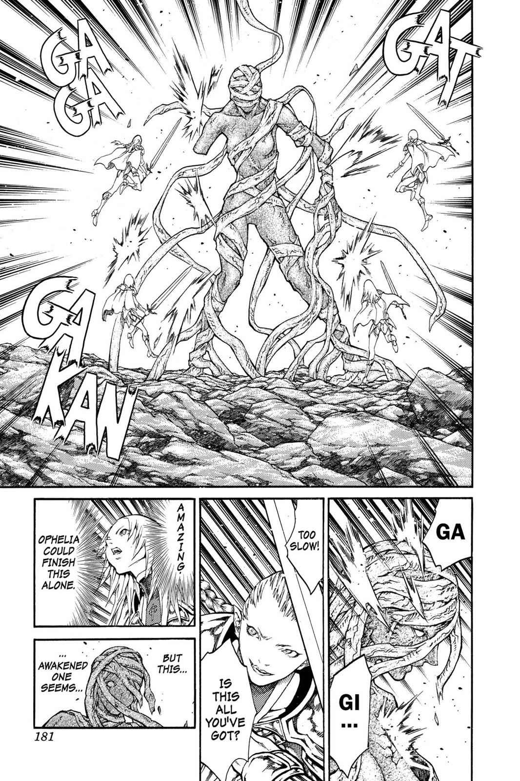 Claymore Chapter 73.6 Page 23