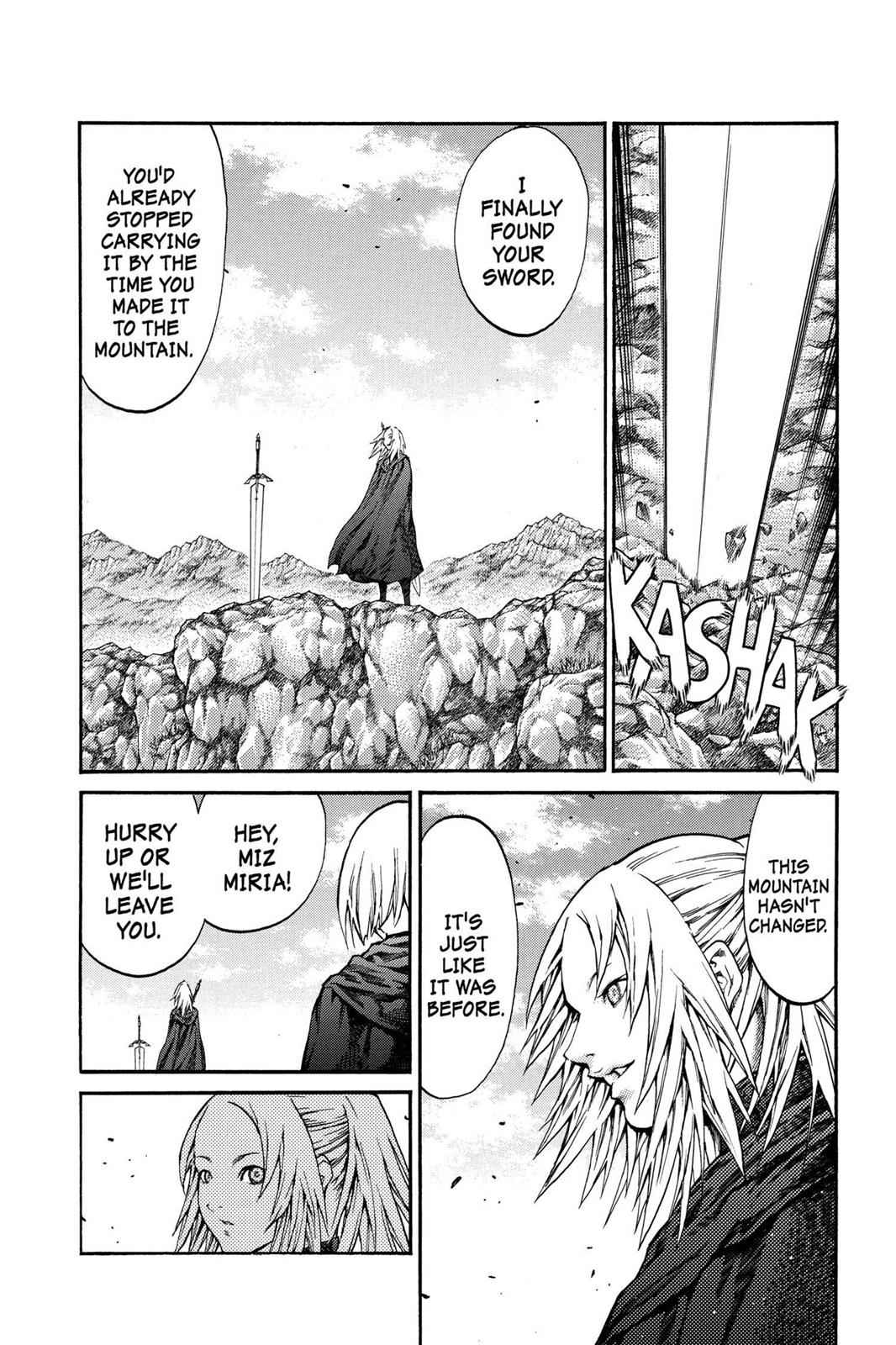 Claymore Chapter 73.6 Page 29