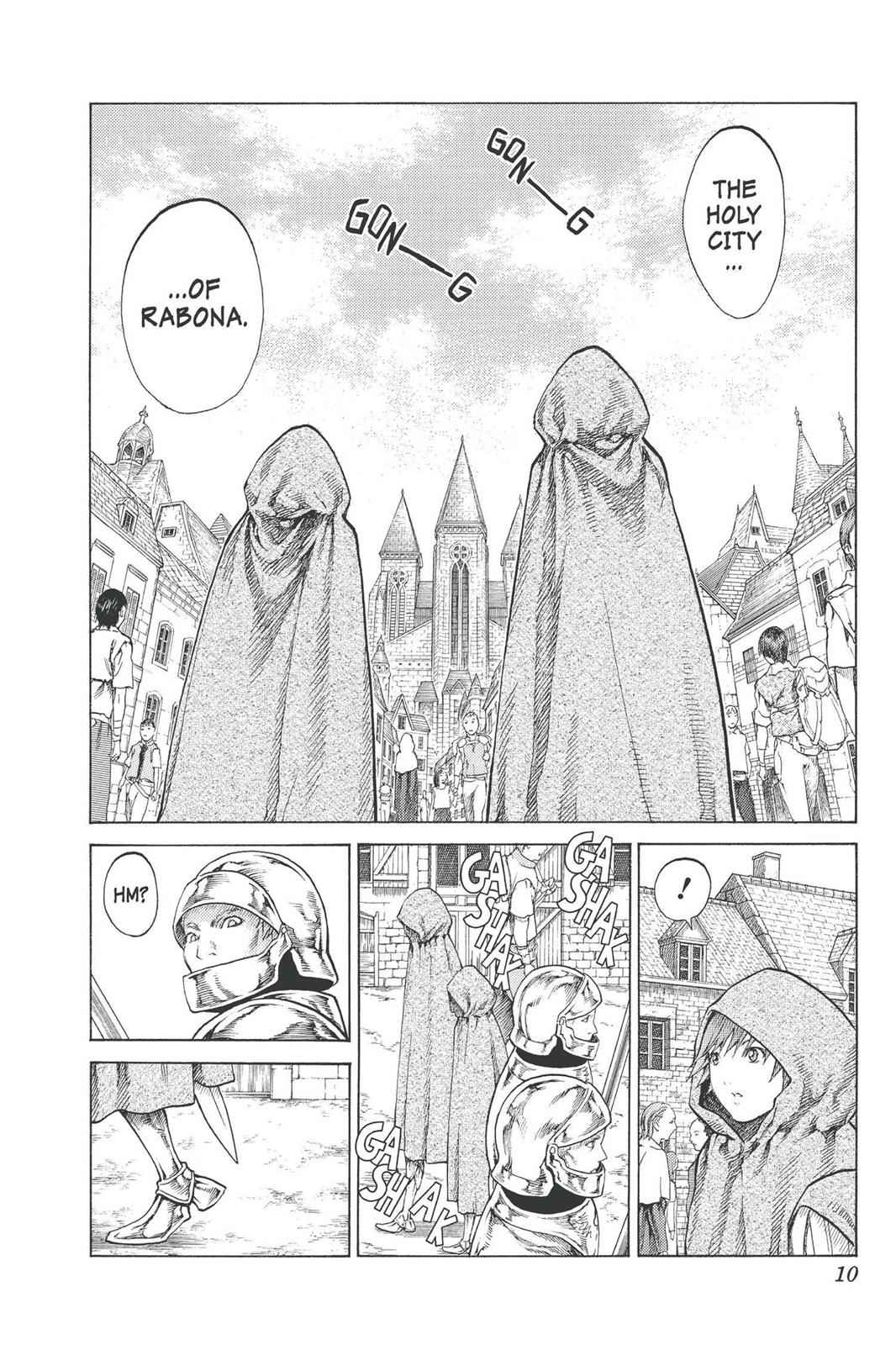 Claymore Chapter 74 Page 10