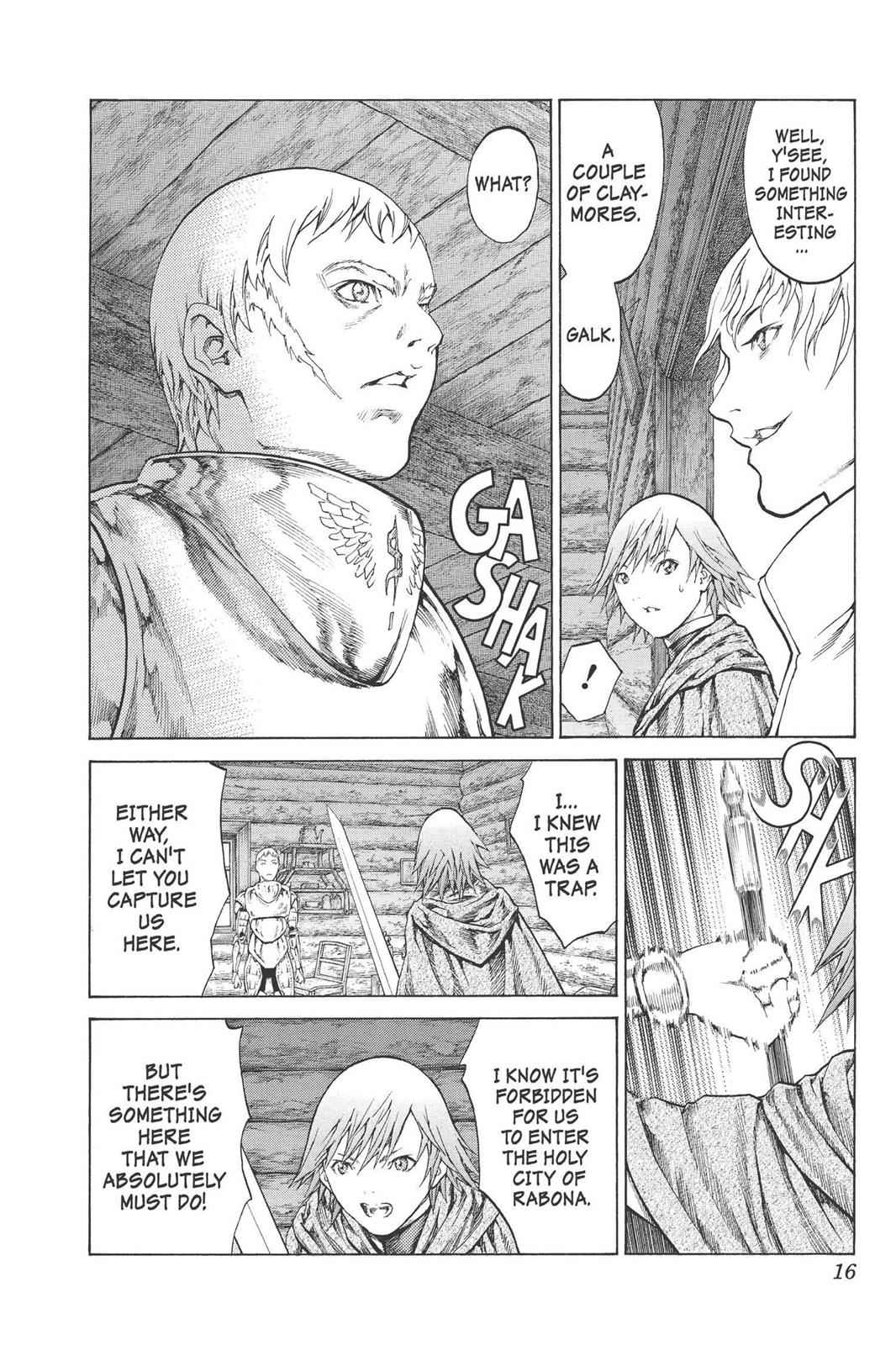 Claymore Chapter 74 Page 16