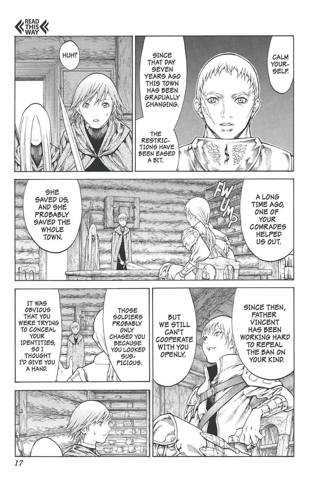 Claymore Chapter 74 Page 17