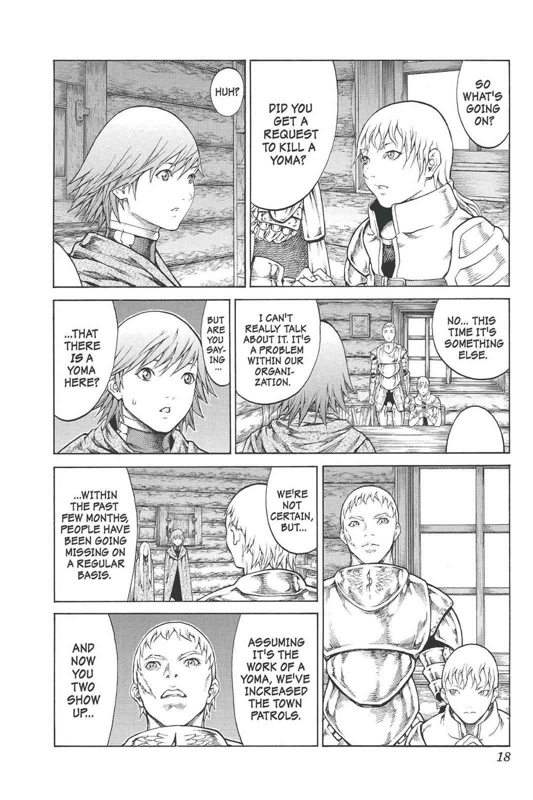 Claymore Chapter 74 Page 18