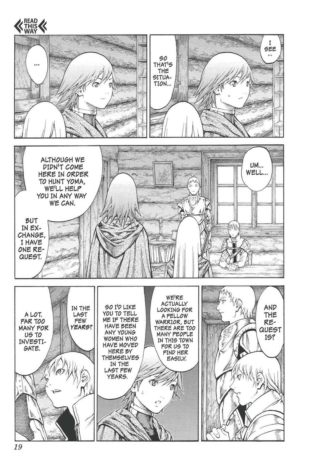 Claymore Chapter 74 Page 19
