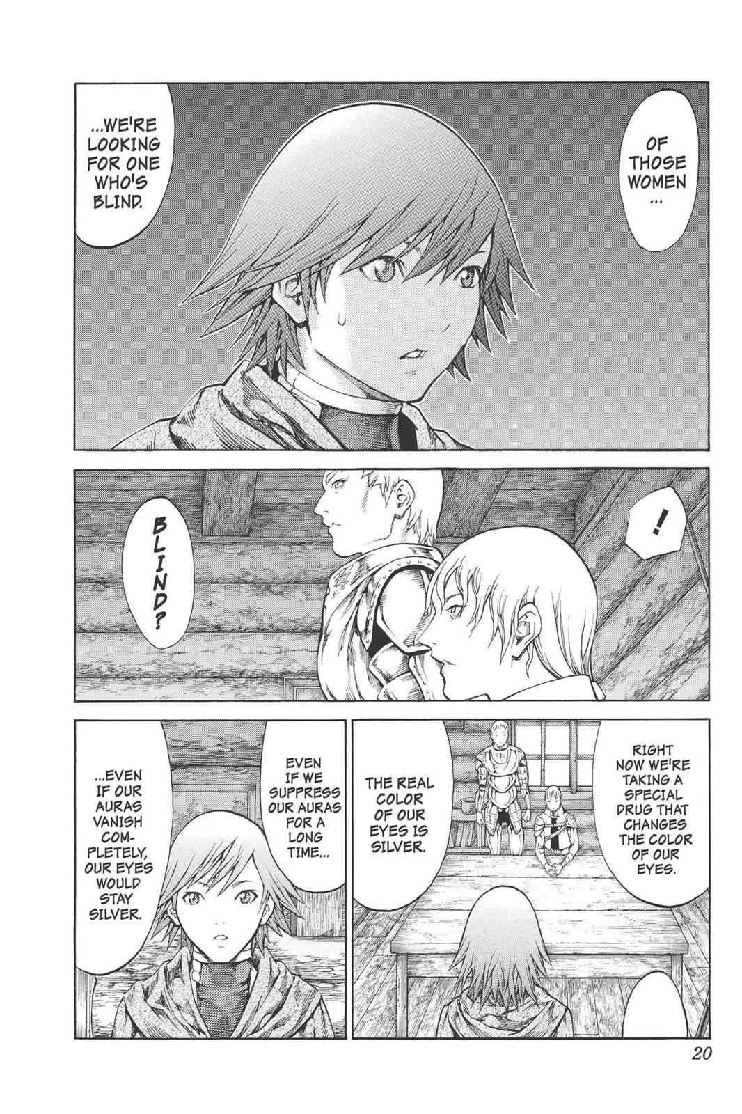 Claymore Chapter 74 Page 20