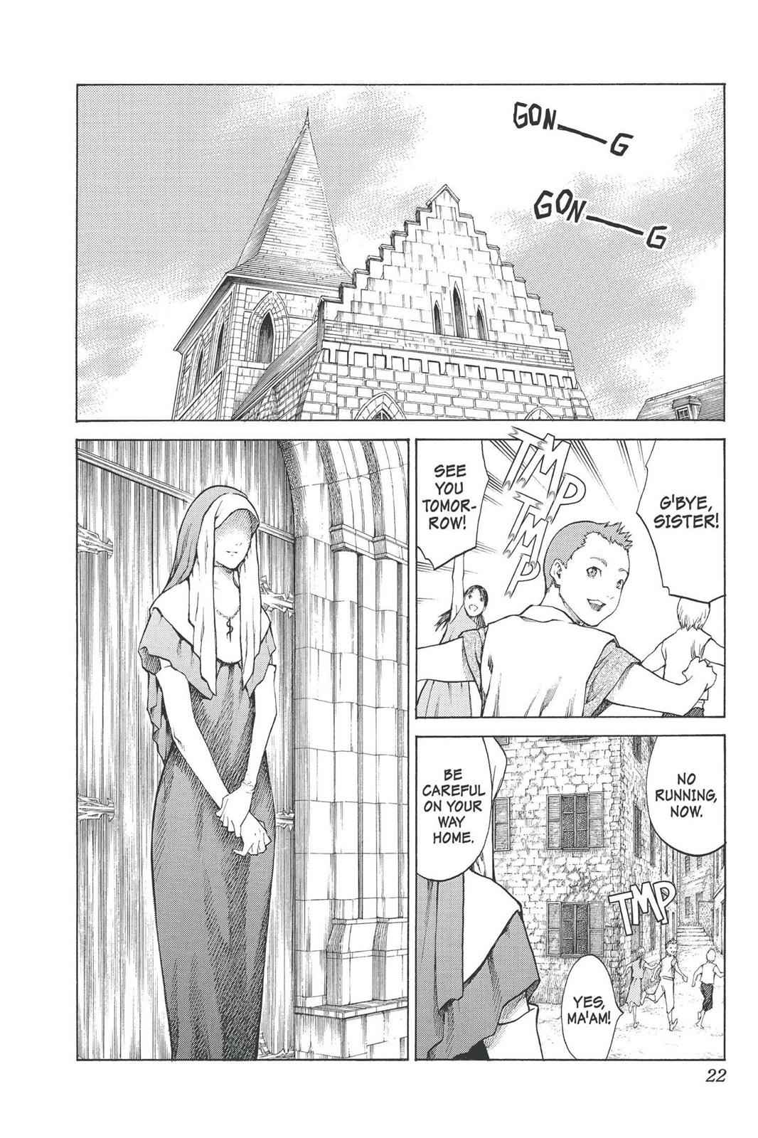 Claymore Chapter 74 Page 22