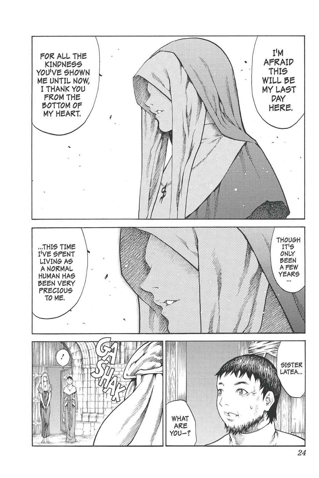 Claymore Chapter 74 Page 24