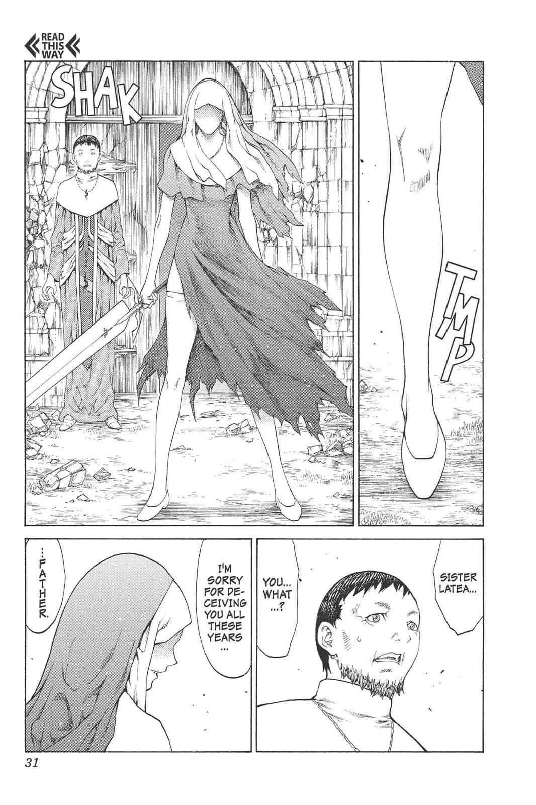 Claymore Chapter 74 Page 31