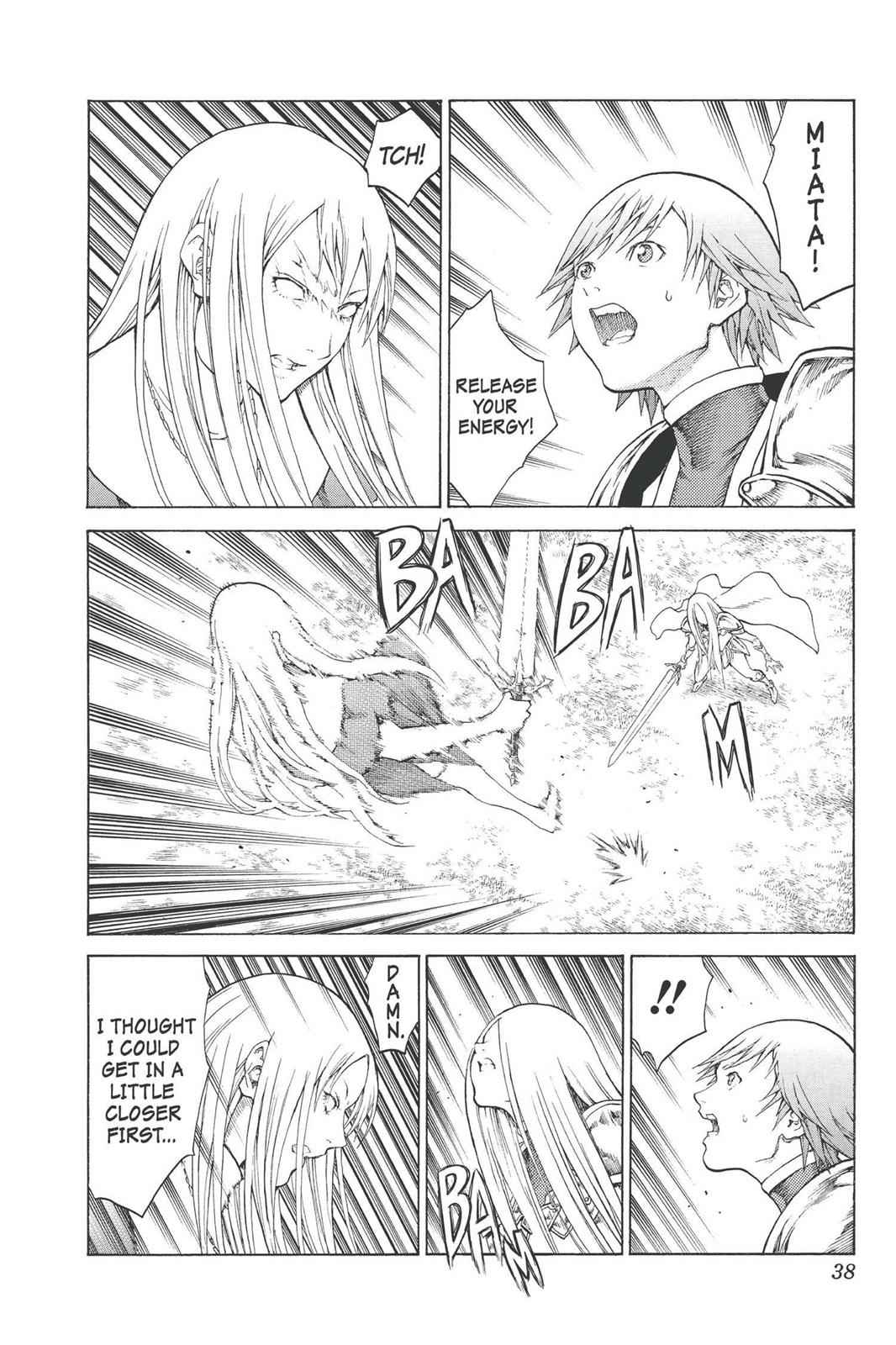 Claymore Chapter 74 Page 37