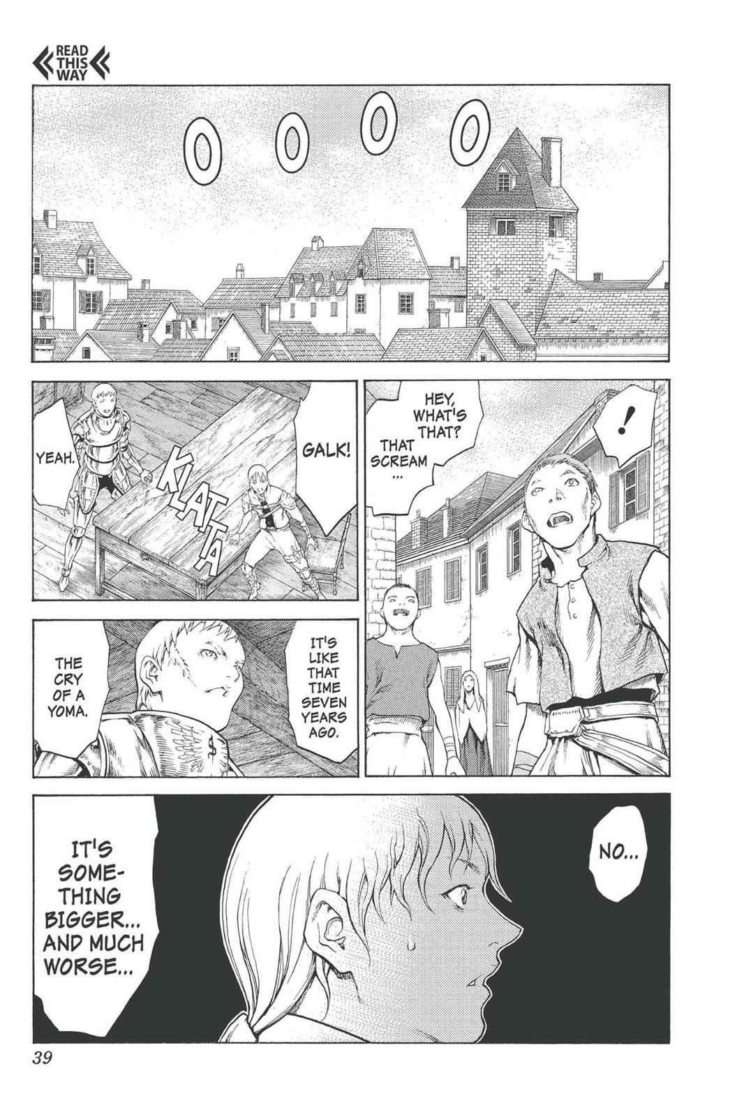 Claymore Chapter 74 Page 38