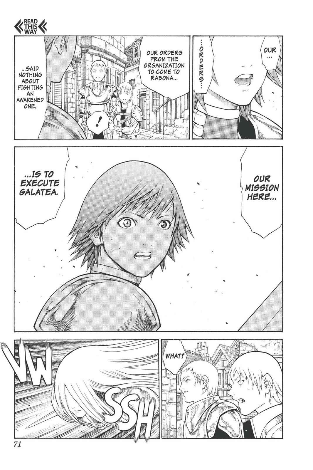 Claymore Chapter 75 Page 29