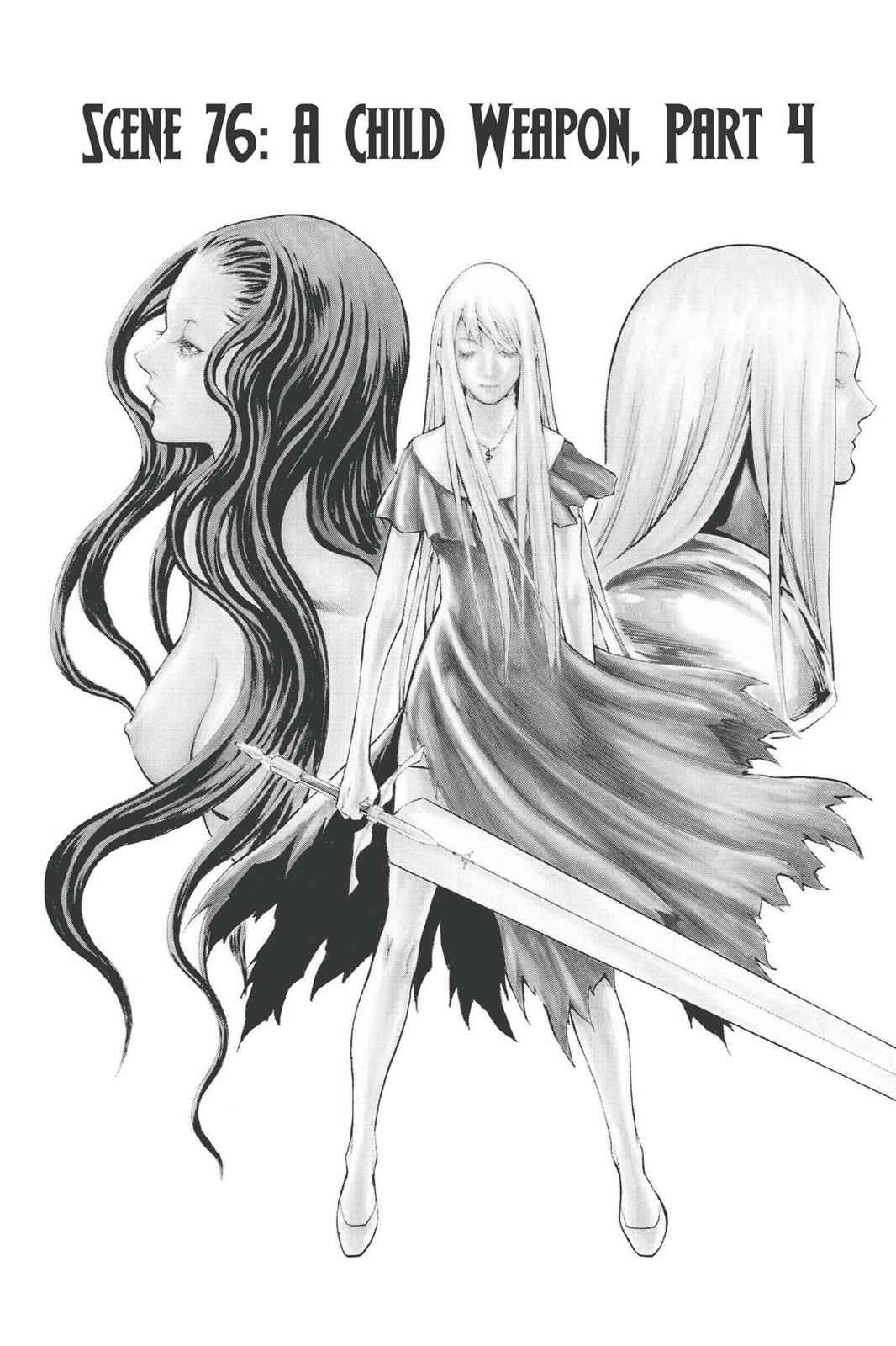 Claymore Chapter 76 Page 1