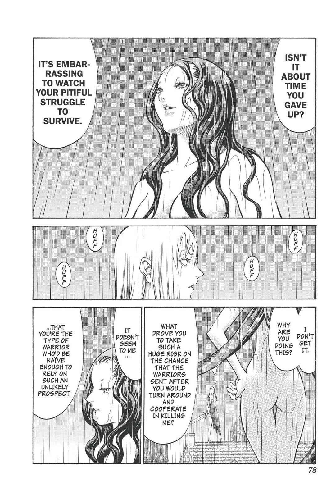 Claymore Chapter 76 Page 7