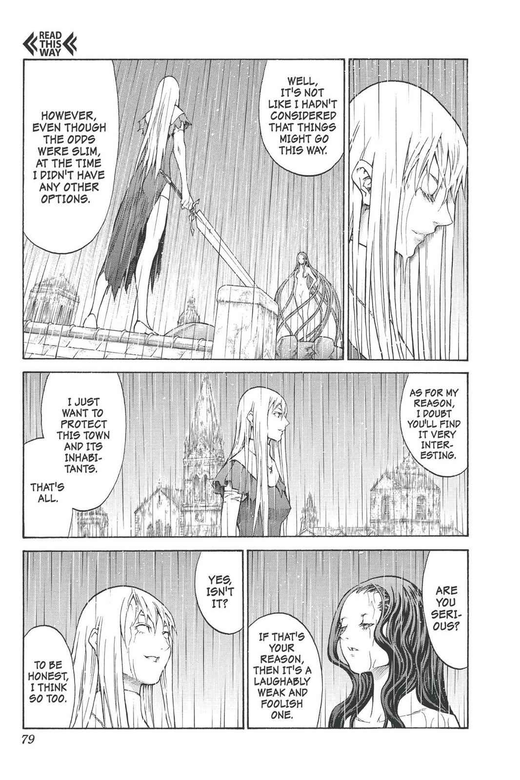 Claymore Chapter 76 Page 8