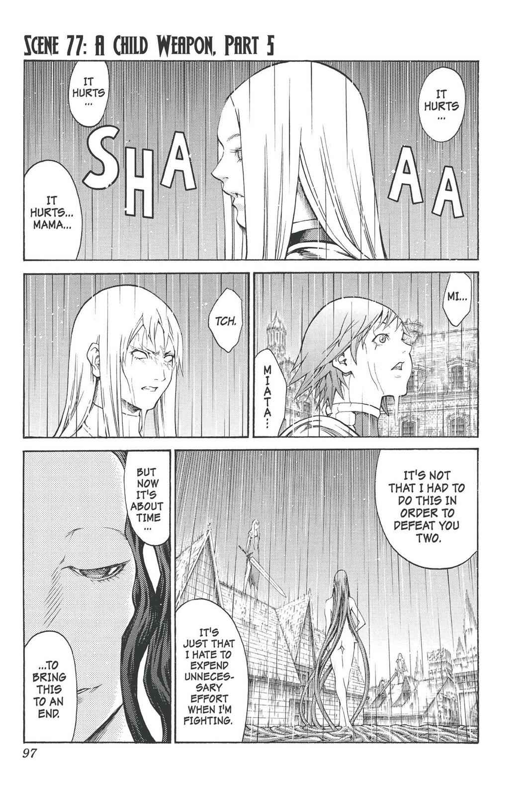 Claymore Chapter 77 Page 1