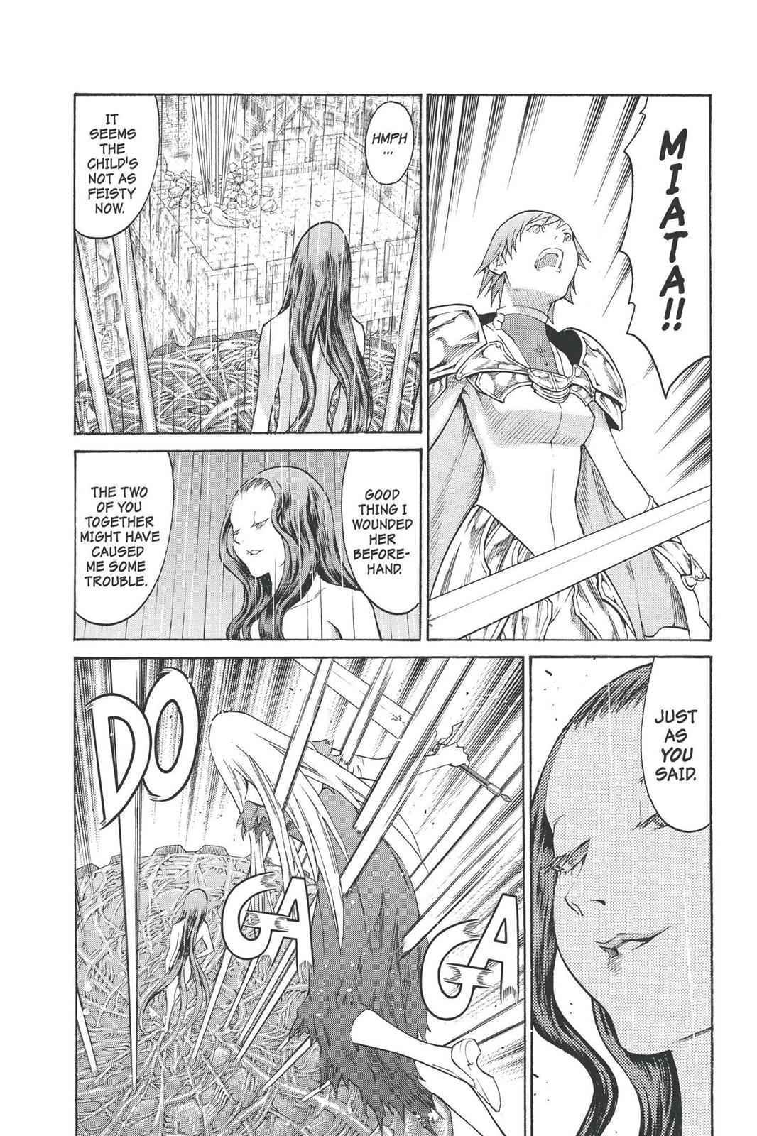 Claymore Chapter 77 Page 10