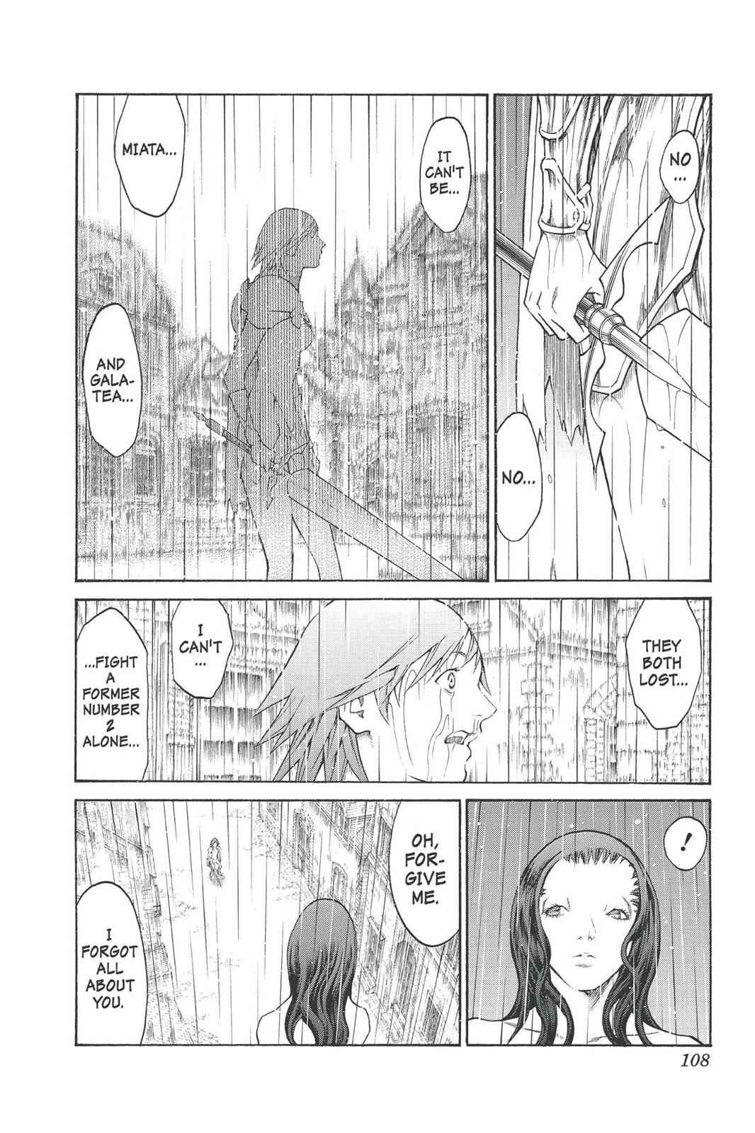 Claymore Chapter 77 Page 12
