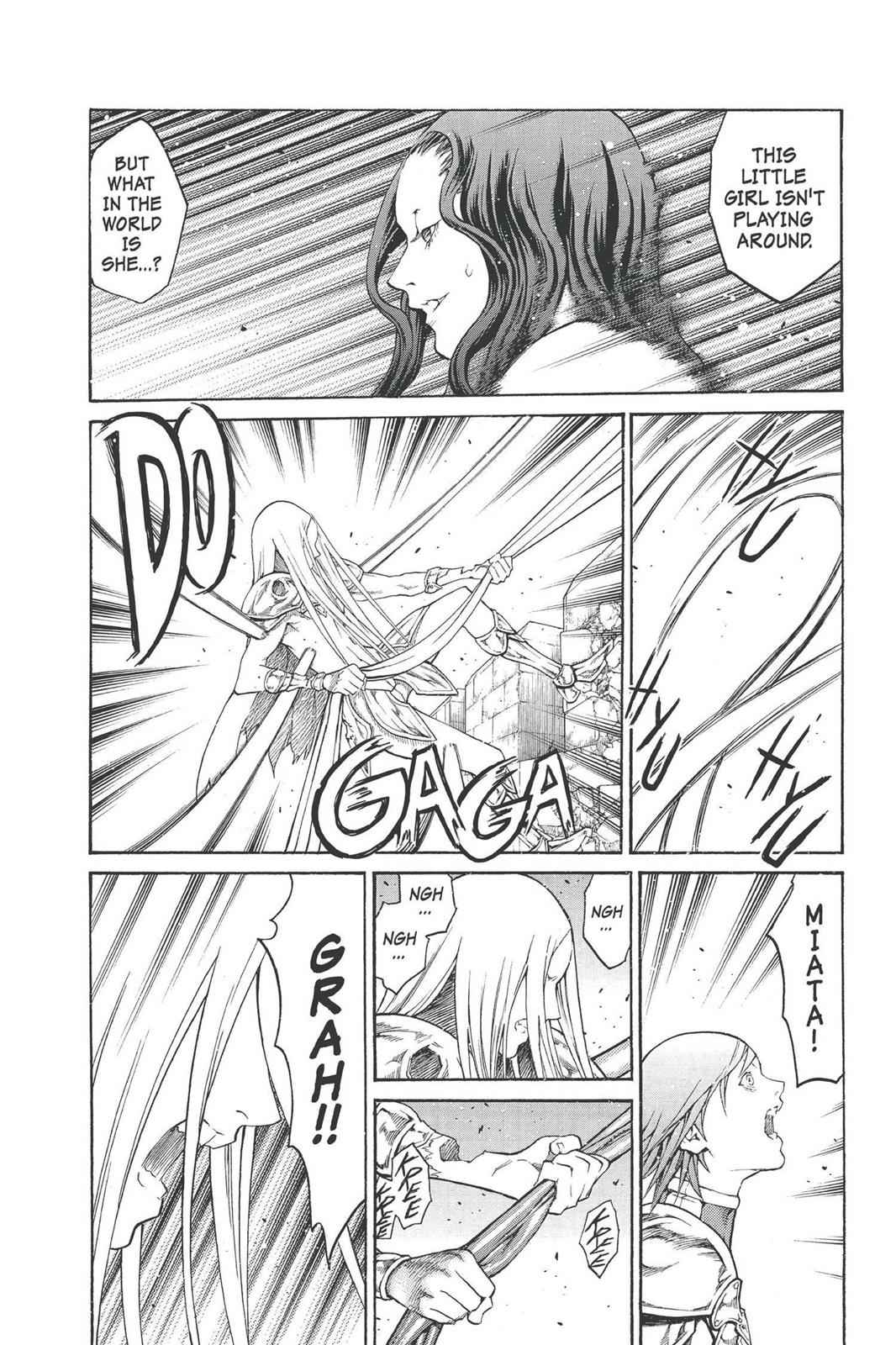 Claymore Chapter 77 Page 8