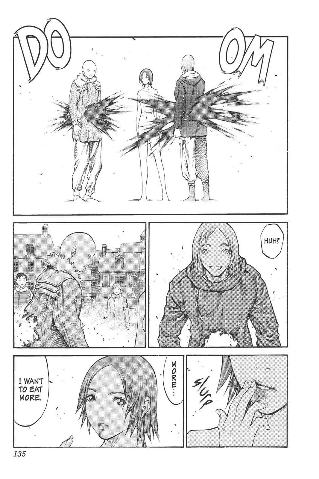 Claymore Chapter 77.5 Page 8