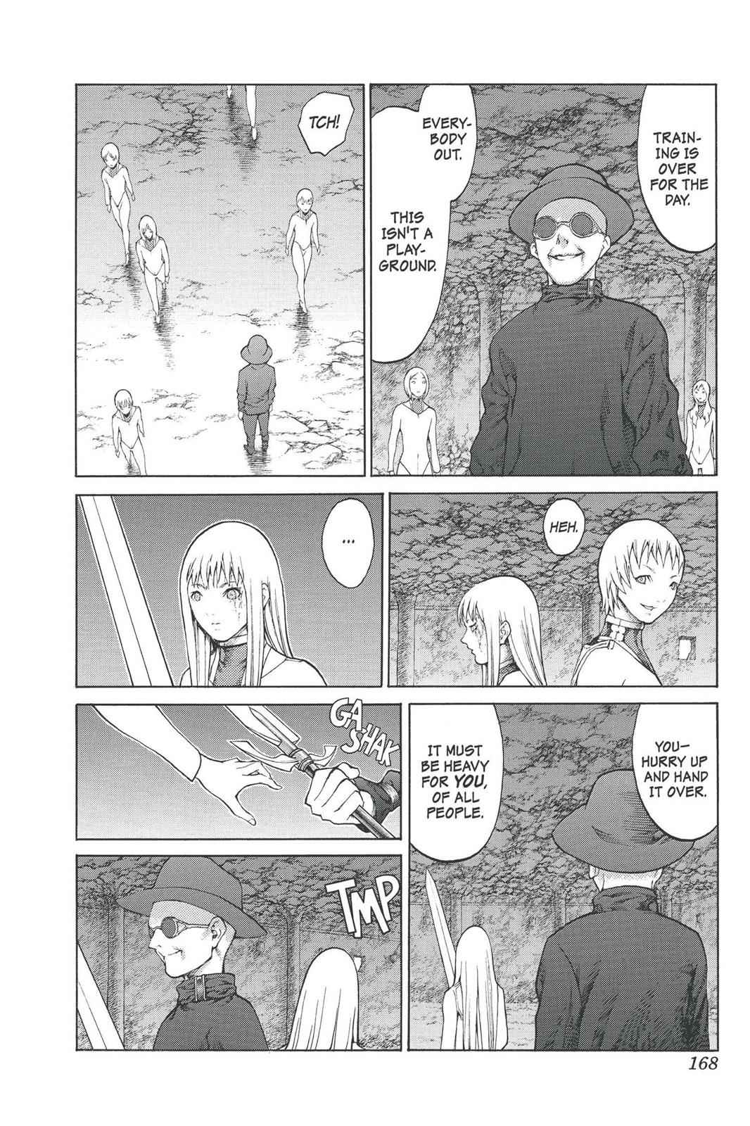 Claymore Chapter 77.6 Page 9