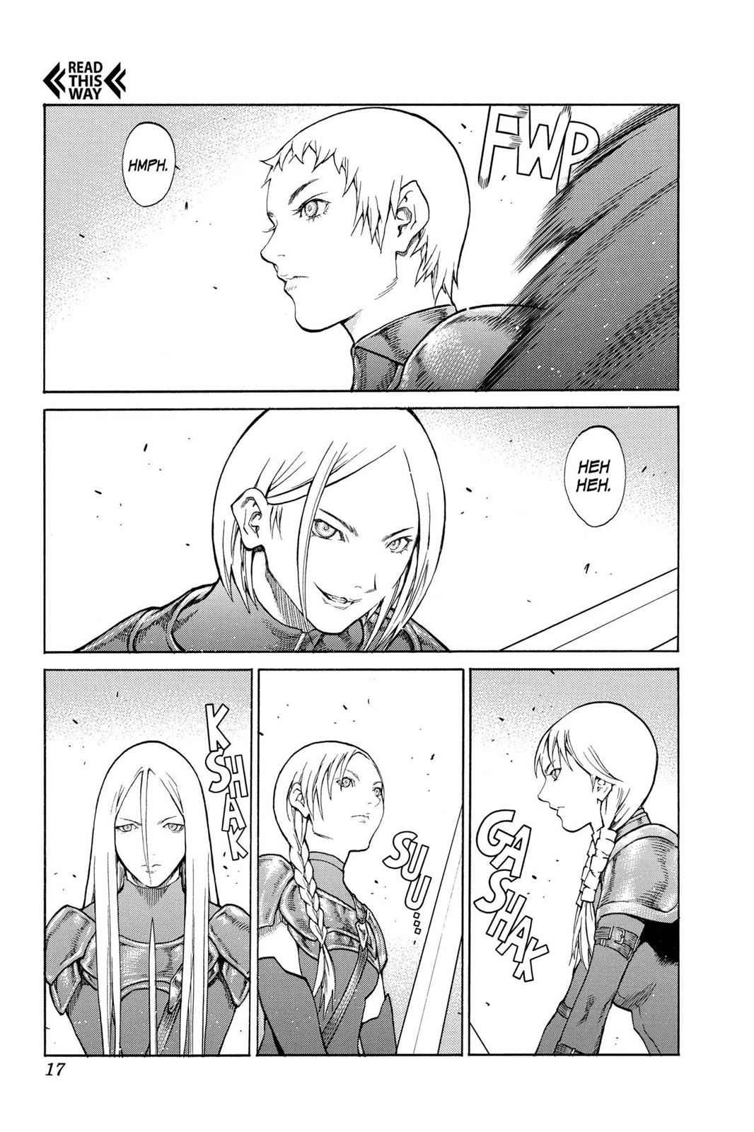 Claymore Chapter 78 Page 16