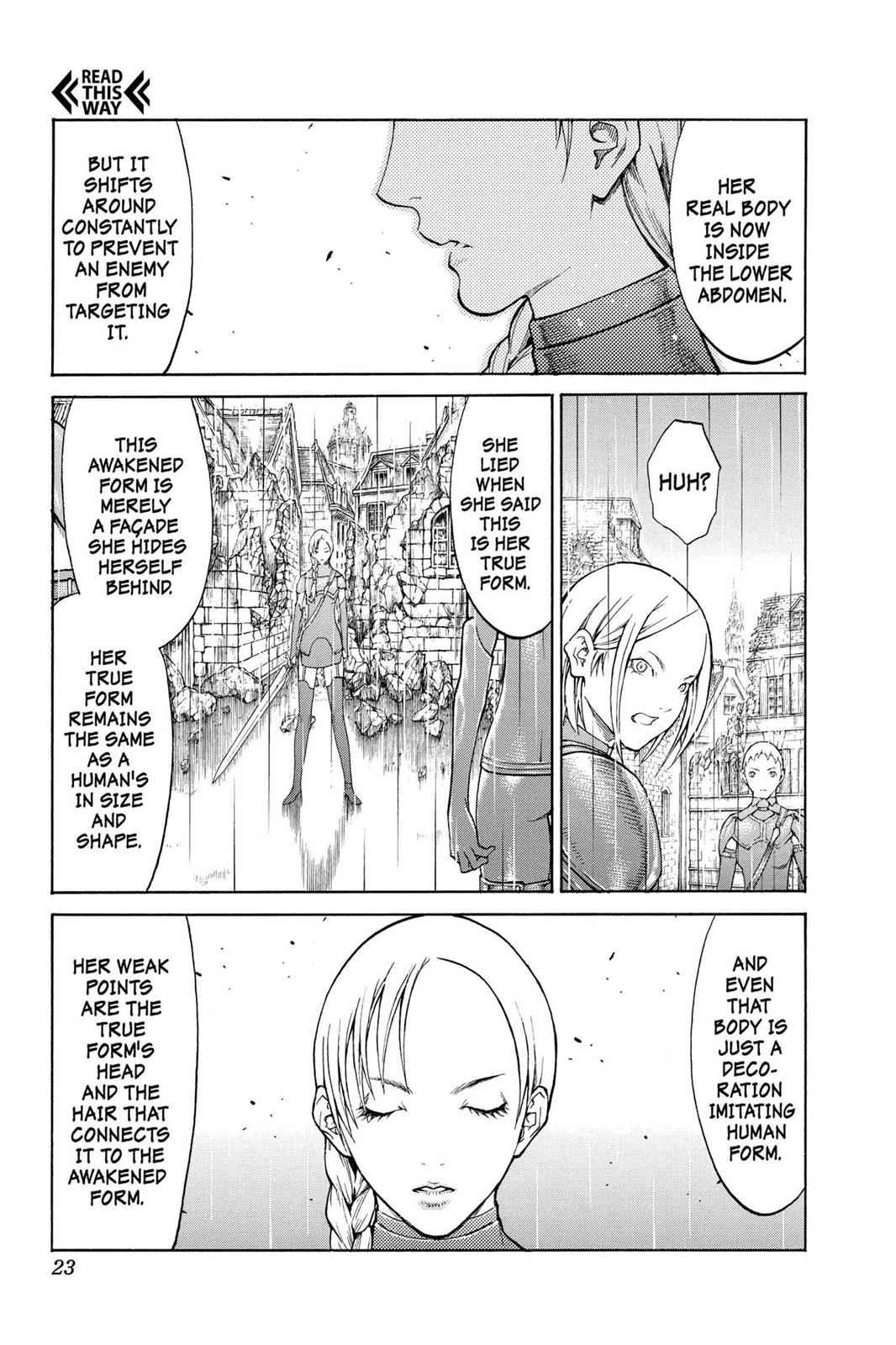 Claymore Chapter 78 Page 21