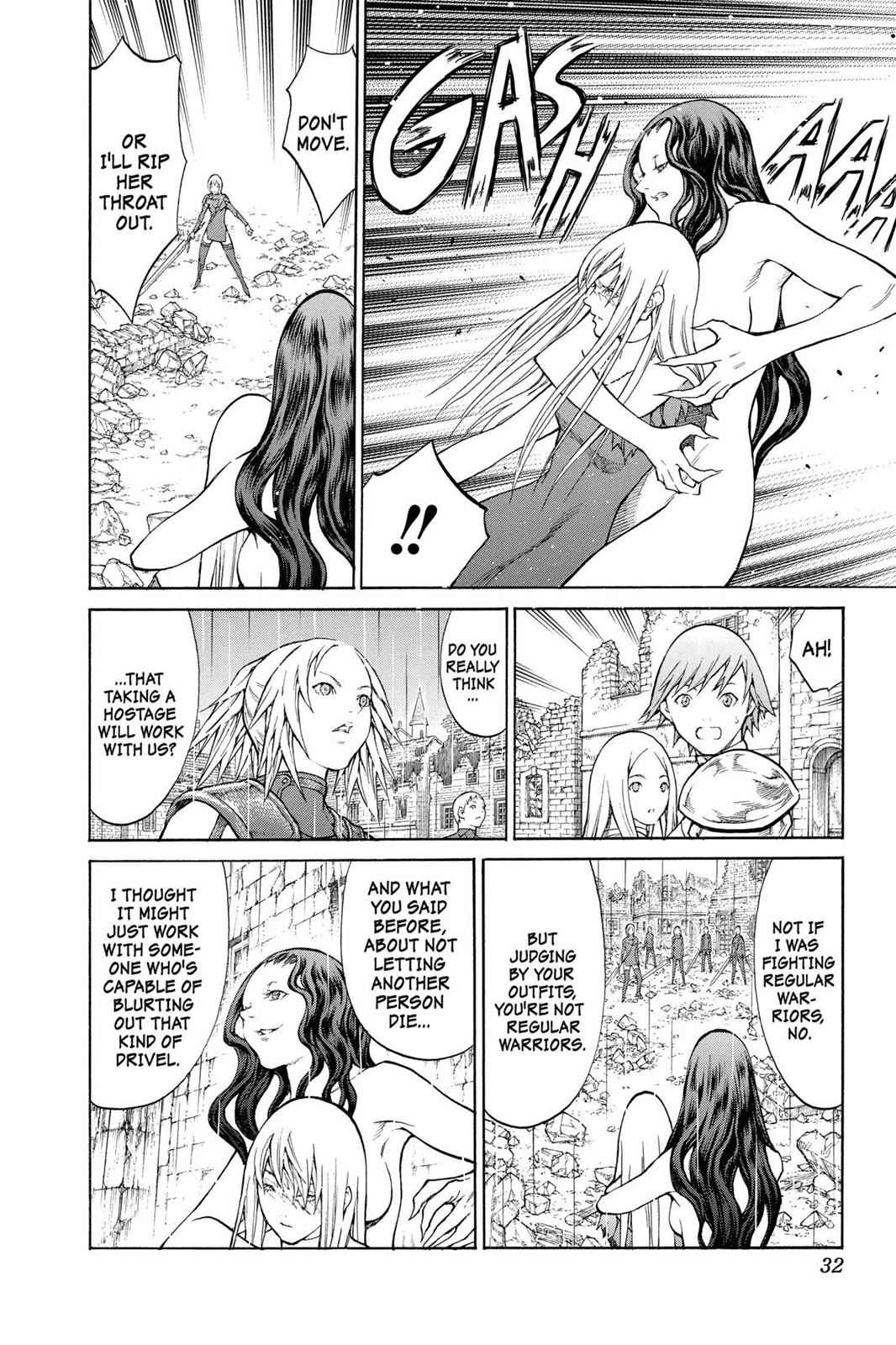 Claymore Chapter 78 Page 29