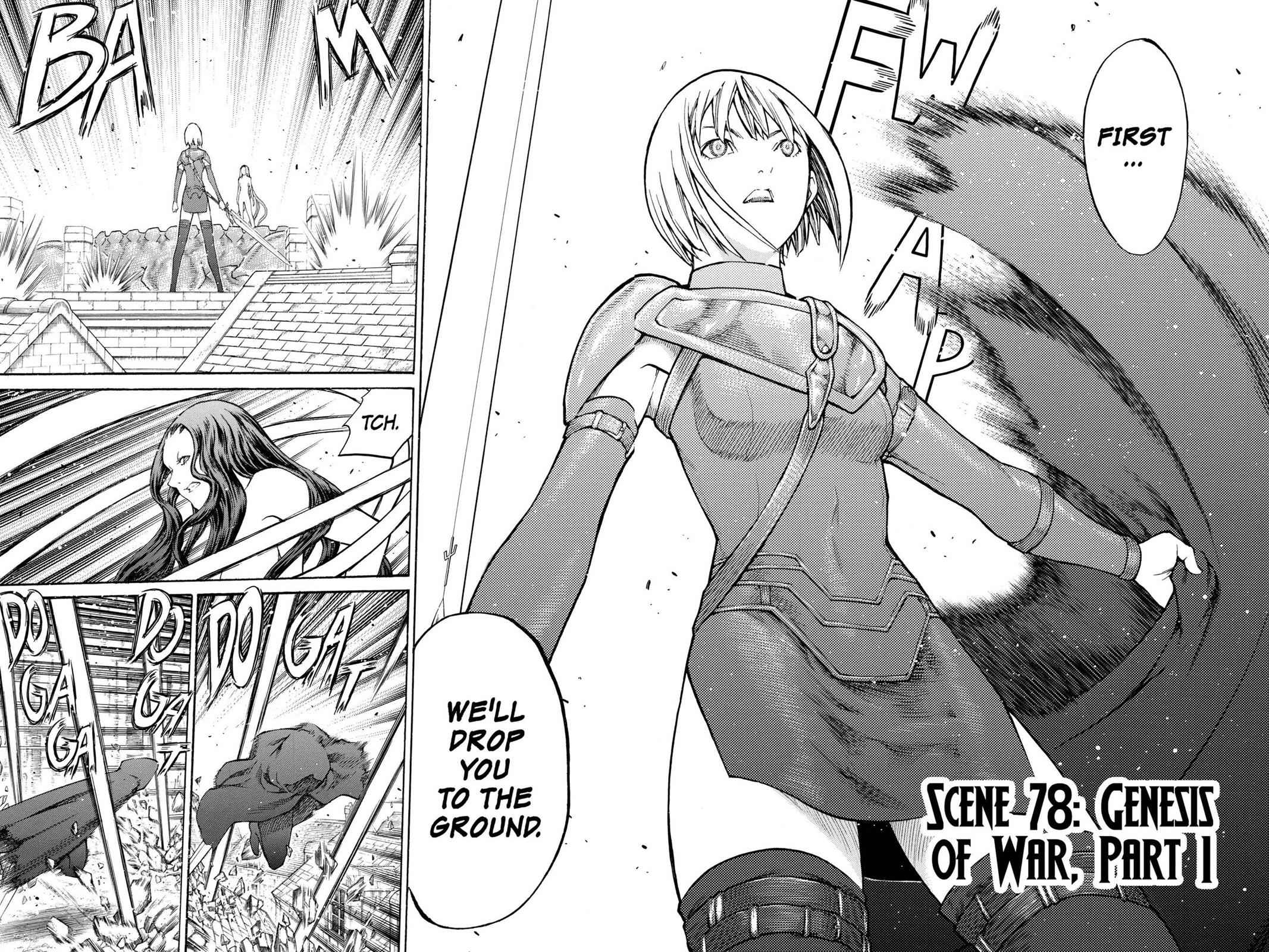 Claymore Chapter 78 Page 8