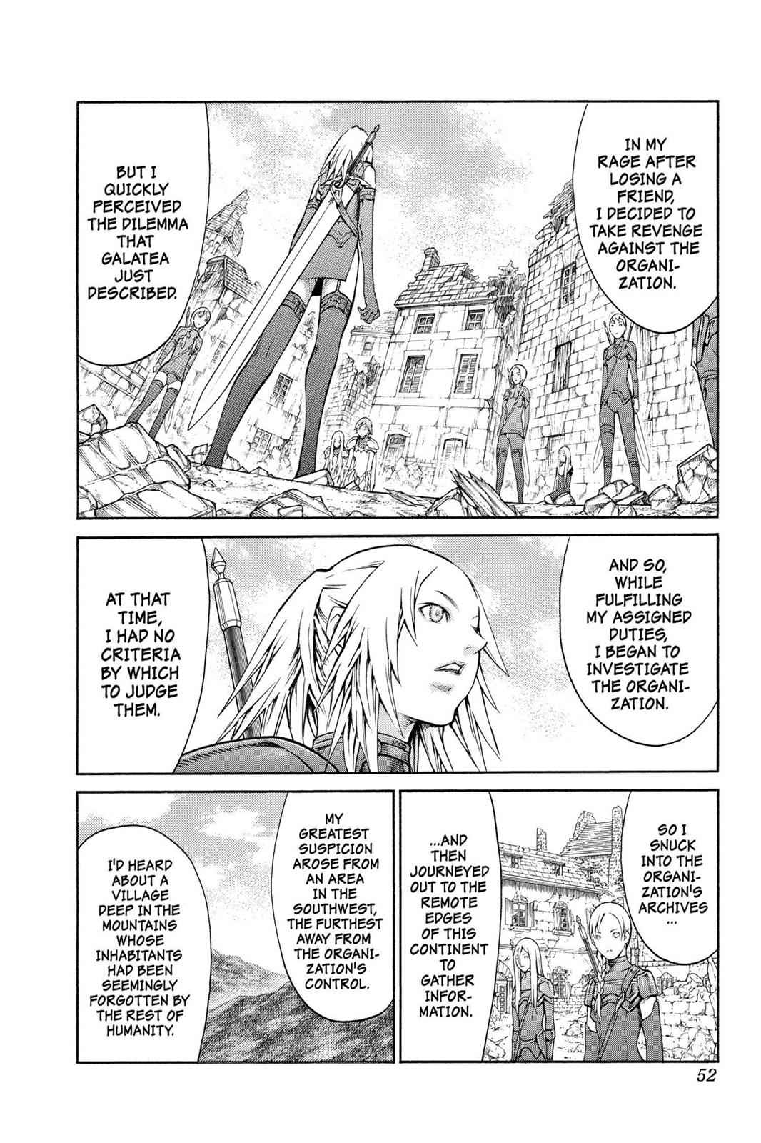 Claymore Chapter 79 Page 14
