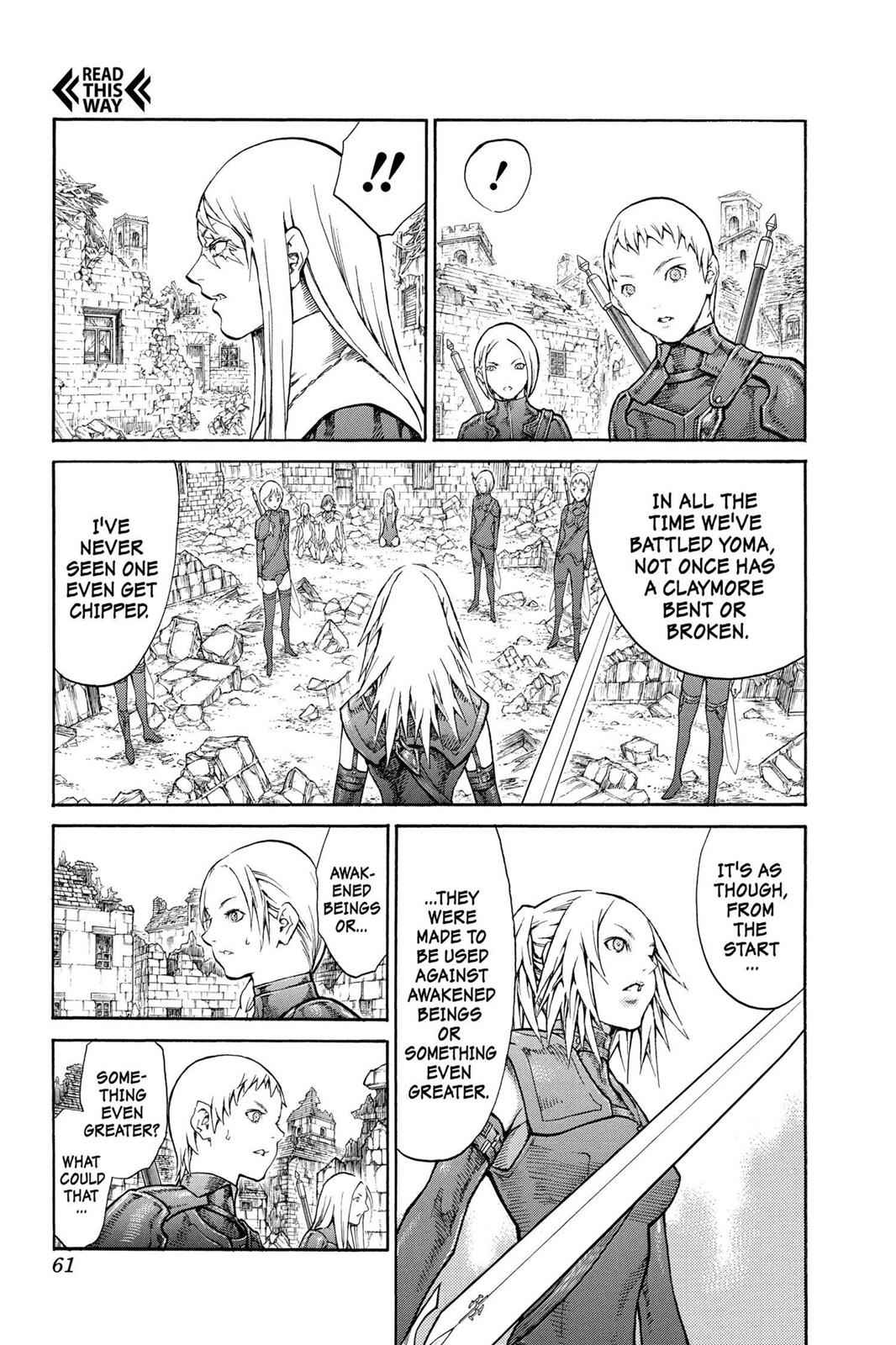 Claymore Chapter 79 Page 22