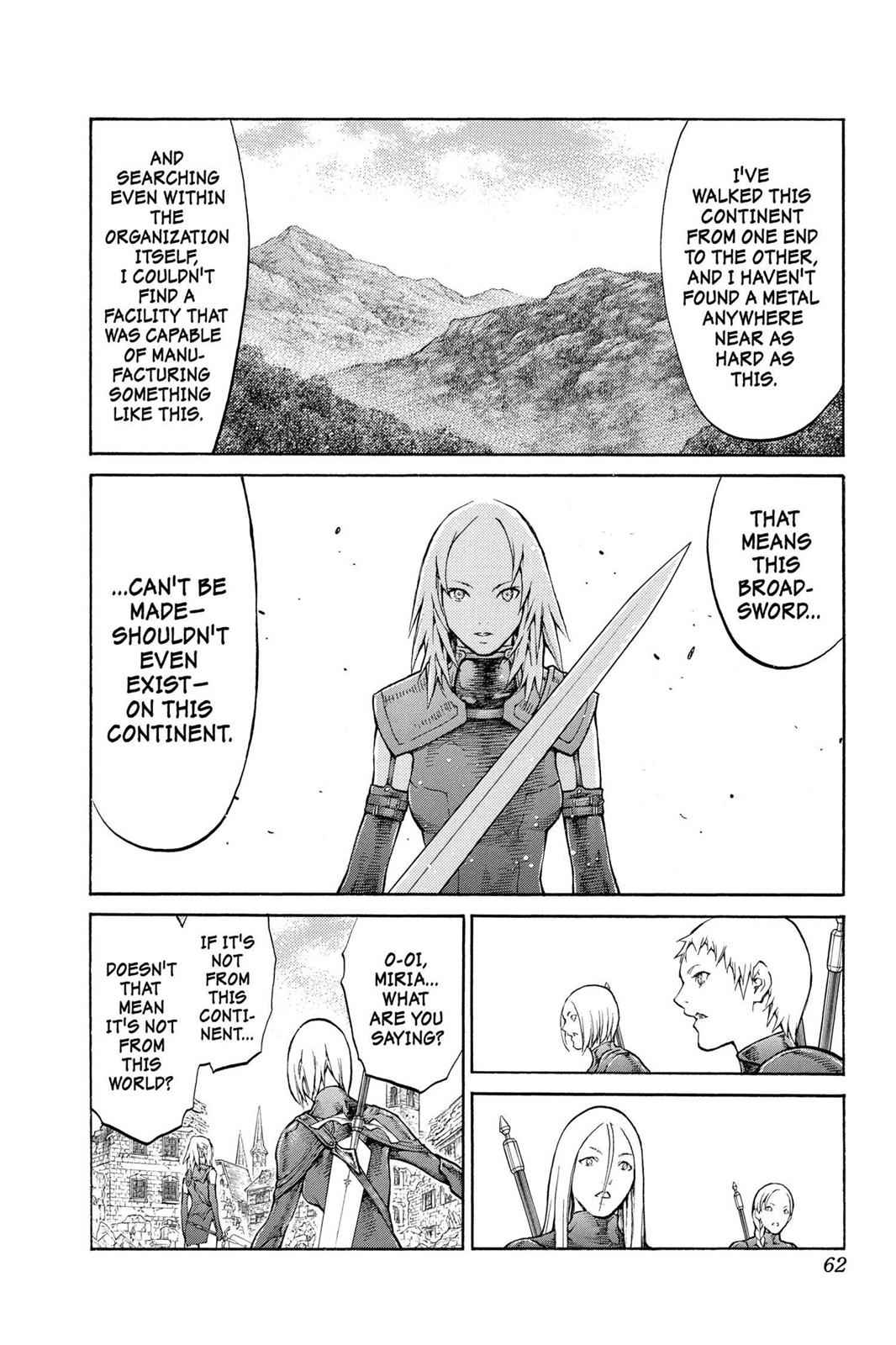 Claymore Chapter 79 Page 23