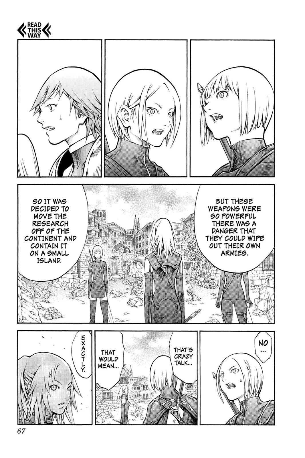 Claymore Chapter 79 Page 27