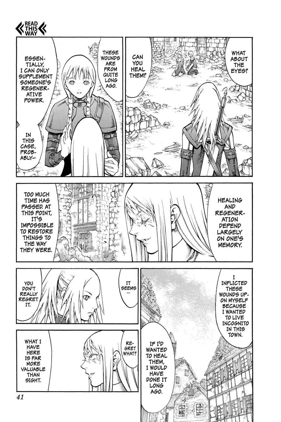 Claymore Chapter 79 Page 4
