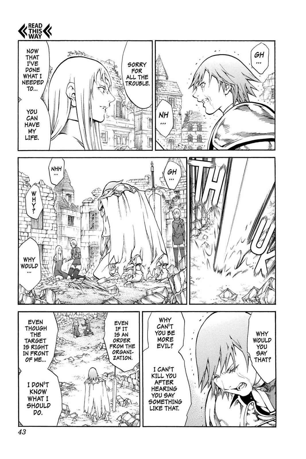 Claymore Chapter 79 Page 6