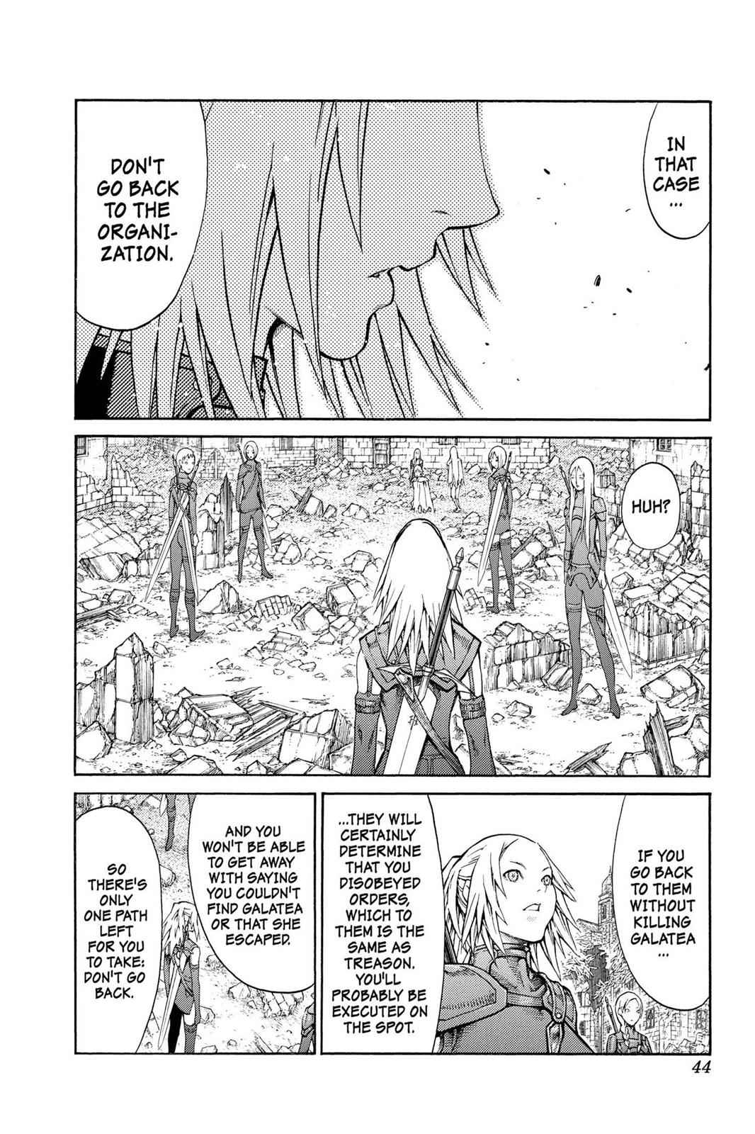 Claymore Chapter 79 Page 7