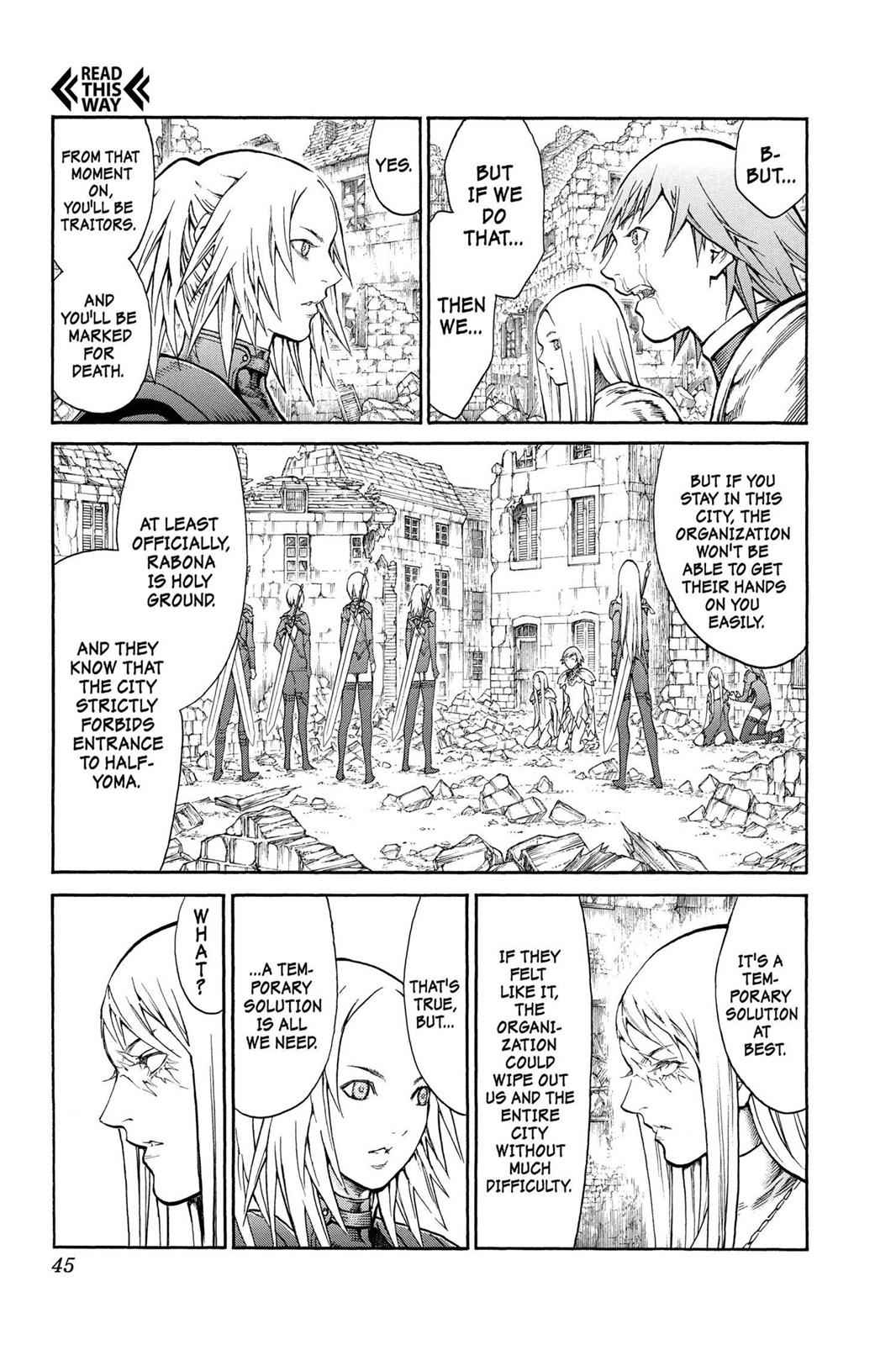 Claymore Chapter 79 Page 8